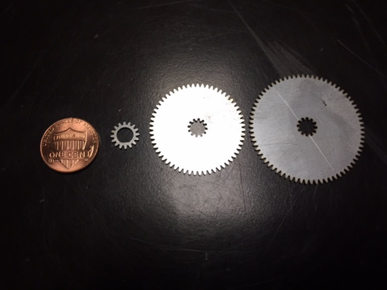 series stainless steel gears