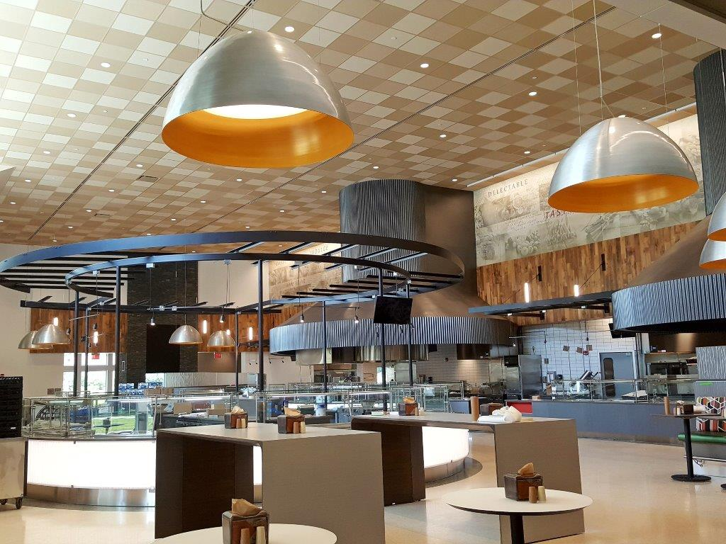 IUP North Dining Hall - Architectural Lighting